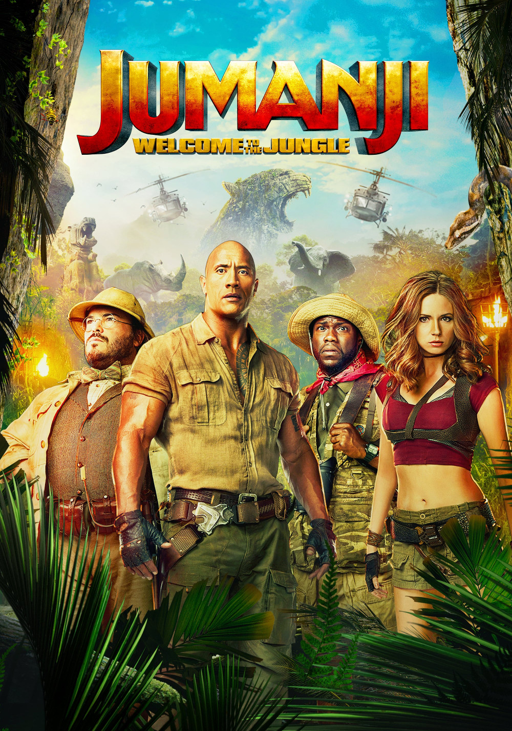 Jumanji Welcome To The Jungle 2017 Film Probe